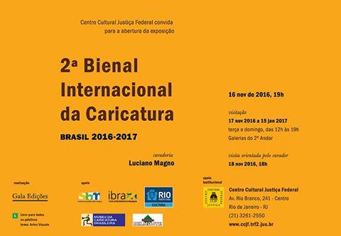 2ª Bienal Internacional da Caricatura