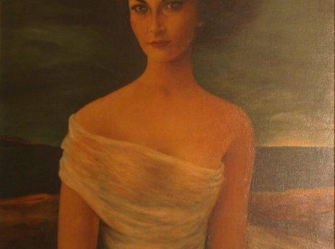 Cosma-Retrato-Yedda-Óleo