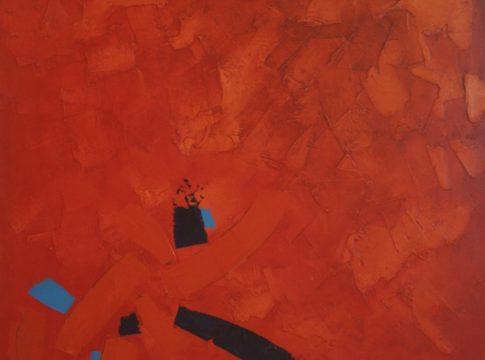Evaldo-Dhelonne-Abstrato-Óleo