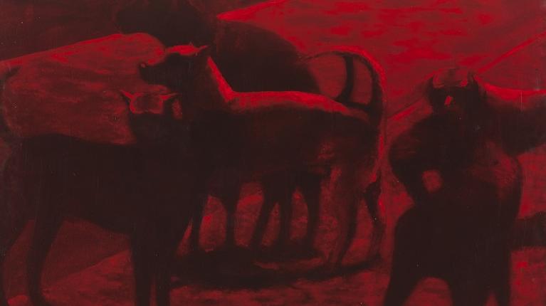 Exposição Quase pinturas, de Fabio Cardoso