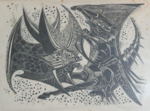 Grasmann-Bichos-1959-Gravura