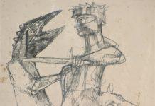 Grasmann-Homem-degolando-animal-Desenho