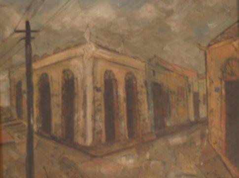 José Paulo - Casa - Óleo