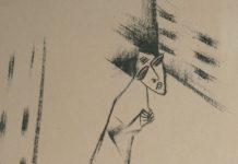 Lasar-Segall-1913-Homem-na-porta-Litografia