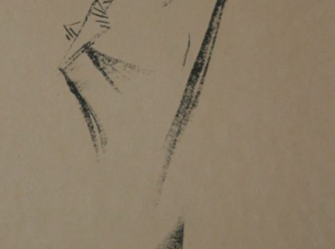Lasar-Segall-1913-Mulher-de-joelhos-Litografia