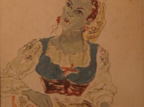 Retrato-Yedda-Vestida-de-Portuguesa-Gravura